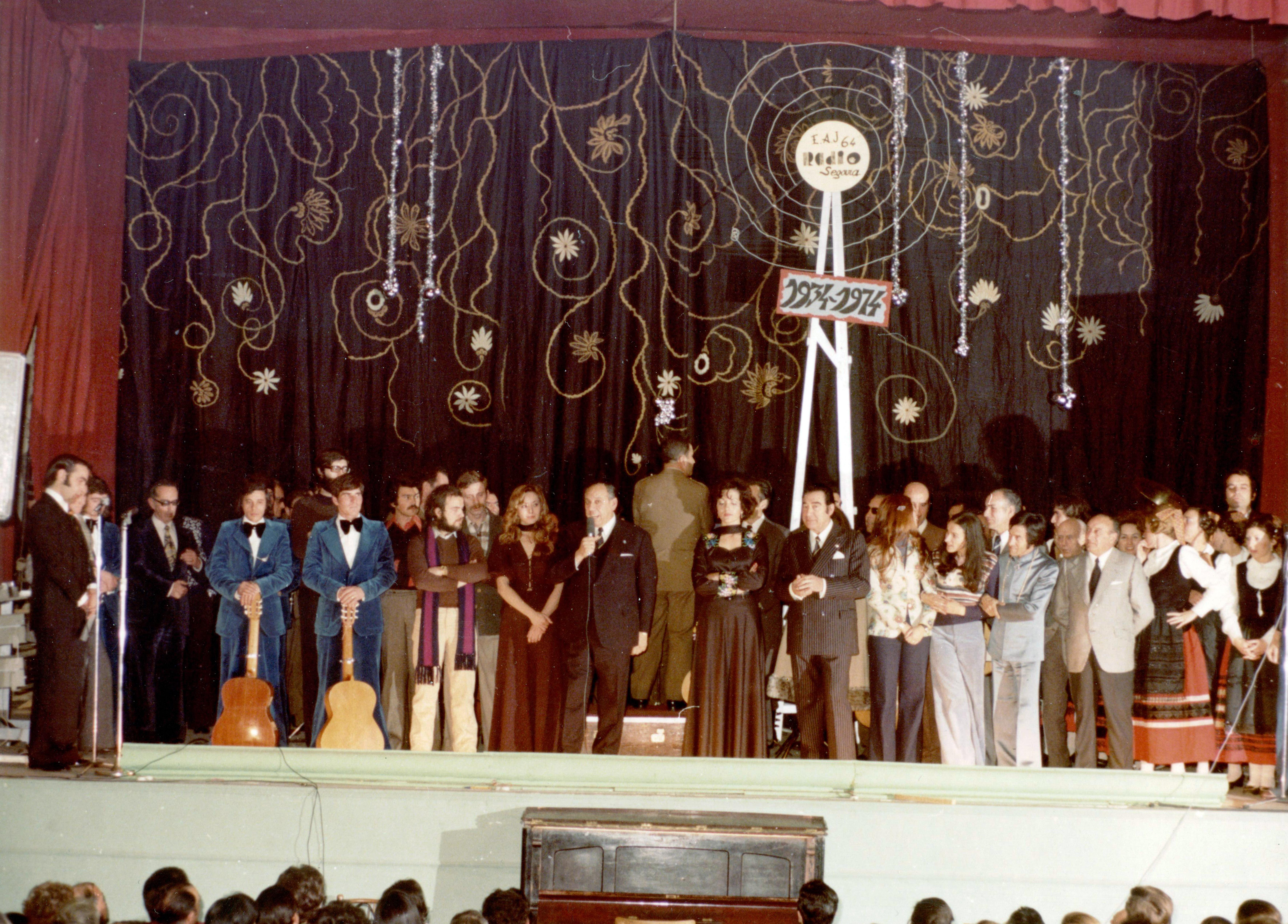 FESTIVAL CON MOTIVO DEL CUARENTA ANIVERSARIO. 1974