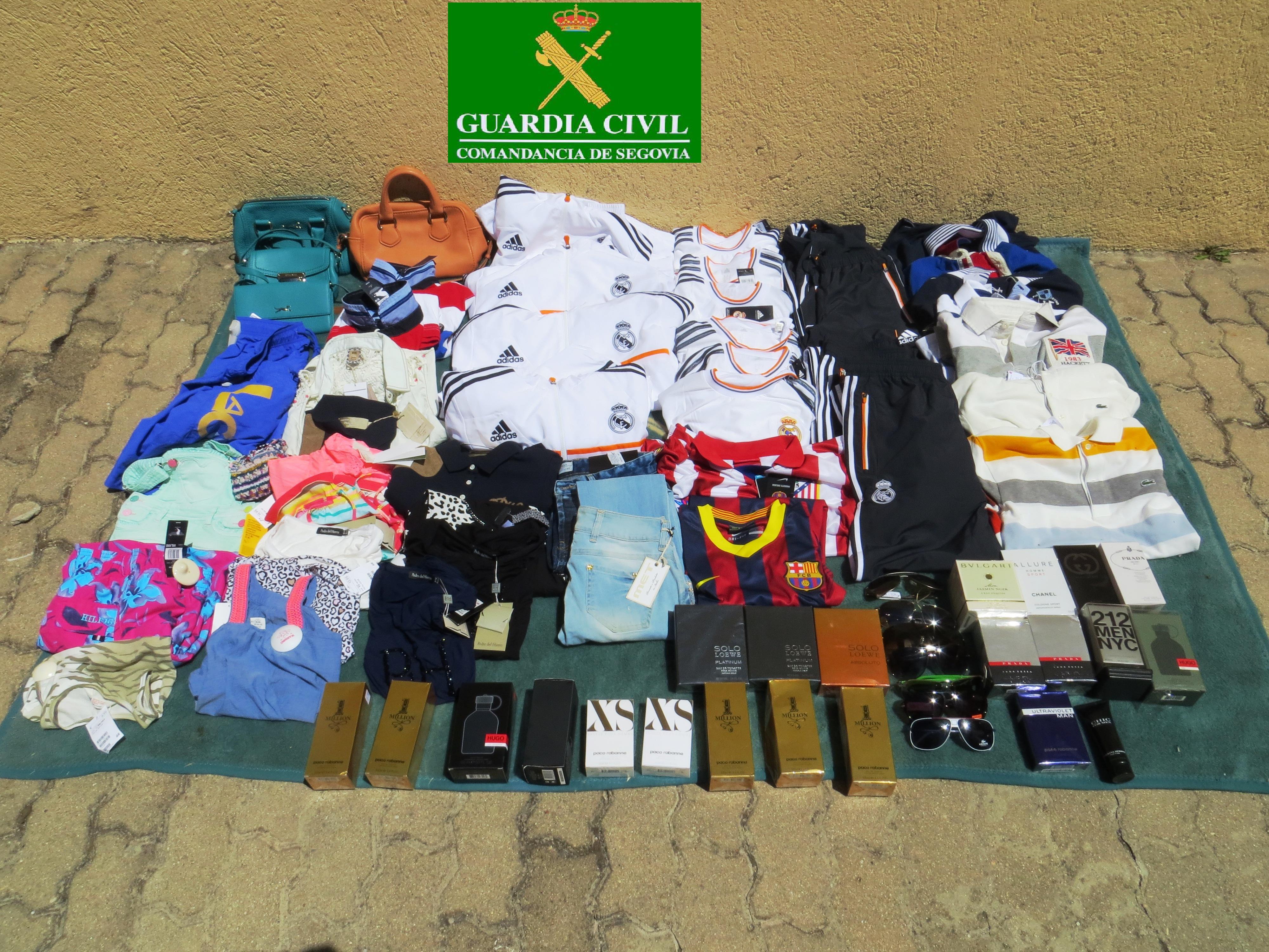 Efectos confiscados por la Guardia Civil / SAN RAFAEL