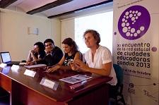 La Concejal Lirio Martín en la presentación Experiencia Nos vemos en el cole