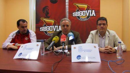 Presentación de la campaña Conoce el deporte por dentro / SEGOVIAFUTSAL