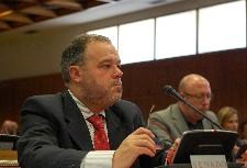 Senador socialista Félix Montes en la Comisión de Cultura / PSOE