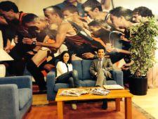 Virginia Ruano junto a Alfonso Lahuerta / OPEN TENIS