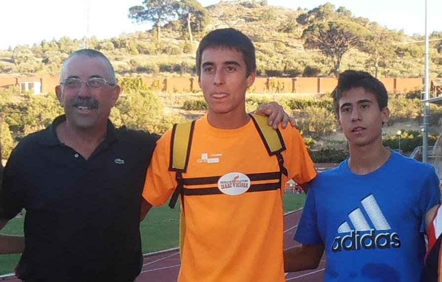 Carlos Baeza, Eduardo Esteba y Mariano