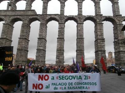 MARCHA NO AL PALACIO DE CONGRESOS