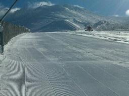 Estado actual de las pistas de esquí / La Pinilla