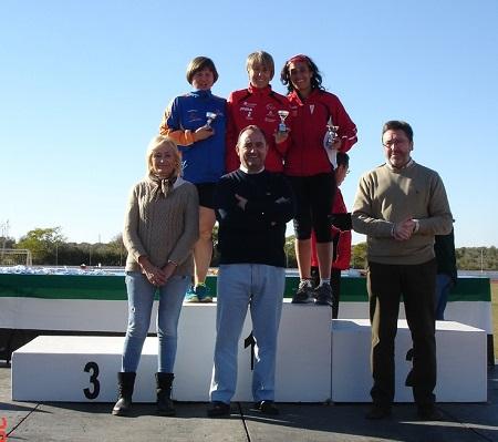 Ana Mª en lo más alto del podium