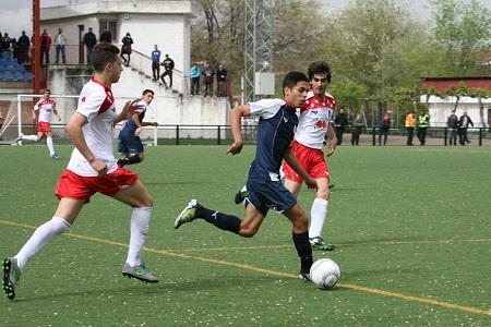 Xavi y Ricardo del CD La Granja en la preselección de Castilla y León UEFA