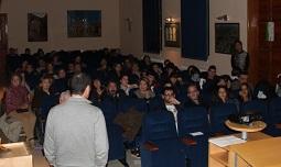 Público presente en la muestra de cortometrajes 2012 / AYLLÓN