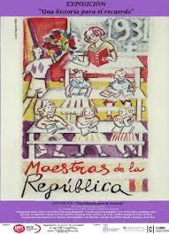 cartel educación república española