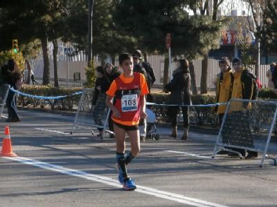 Iker López Subcampeón 5kmarcha cadete