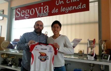 Jugador japonés Segoviafutsal