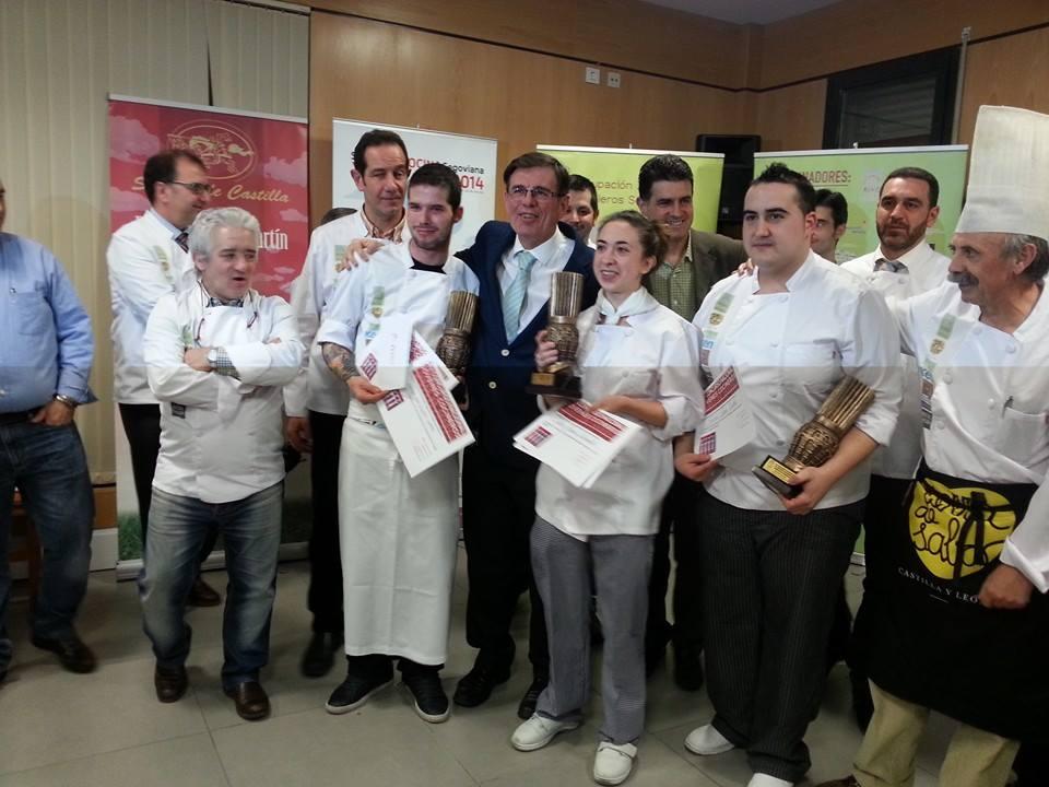 XIV concurso cocineros de segovia