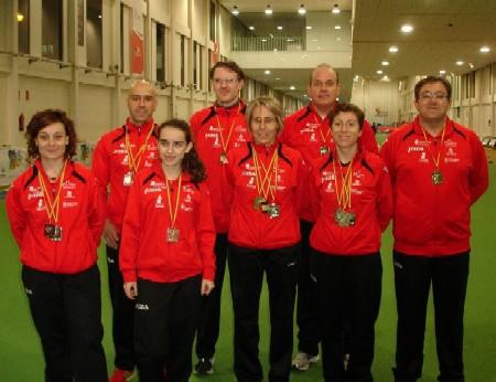 13 medallas para los atletas veteranos del CAS y Hotel Cándido