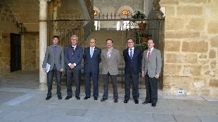 Foto Grupo - alcalde de Úbeda y alcaldes Ciudades Patrimonio