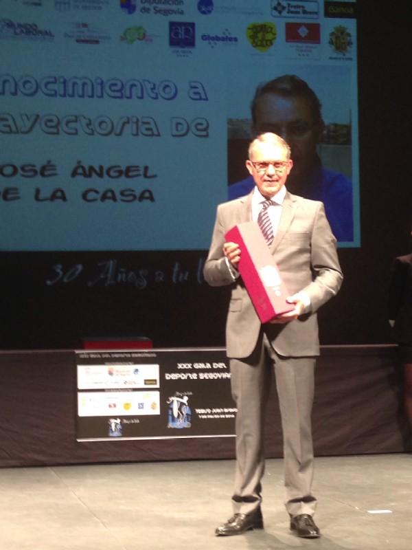 JOSE ANGEL DE LA CASA_GALA DEL DEPORTE