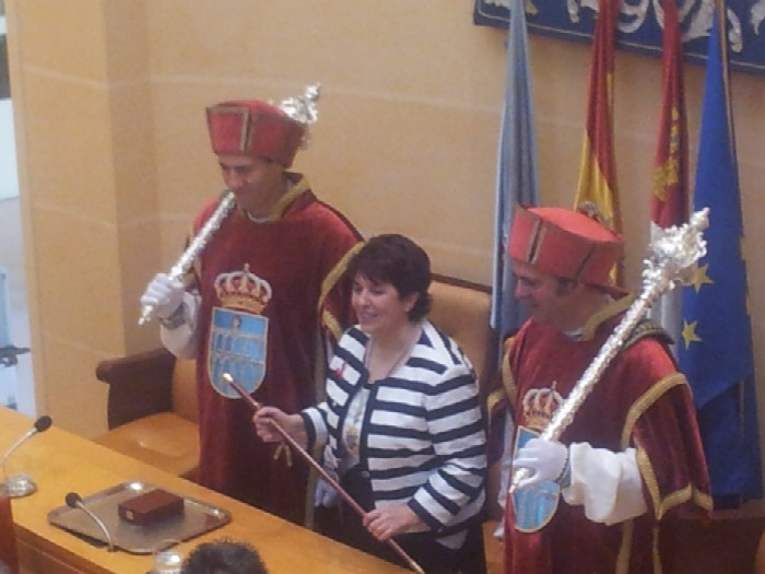 Toma de posesión de Clara Luquero como alcaldesa de Segovia