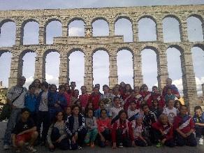 2014-04-08 Alumnos Santiago Compostela-Segovia