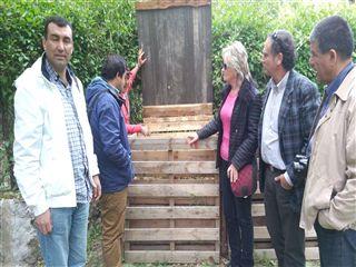 Técnicos y concejales de Urbanismo chilenos conocen la gestión del agua en Segovia