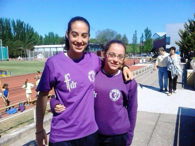 2014-05-20 Sara Gómez con Jacqueline Herranz_nacional de clubes