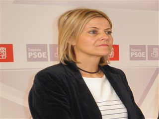 Ana Agudíez, procuradora socialista.