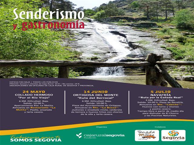 CARTEL SENDERISMO Y GASTRONOMIA 2014 PARA REDES_resized