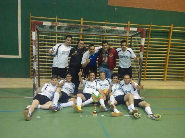 Campeon Interpabellones Futbol Sala 13-14