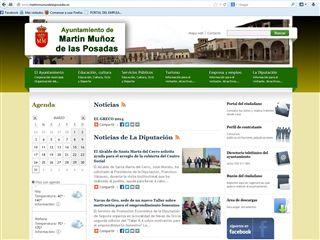 Web Martin Munoz de la Posadas