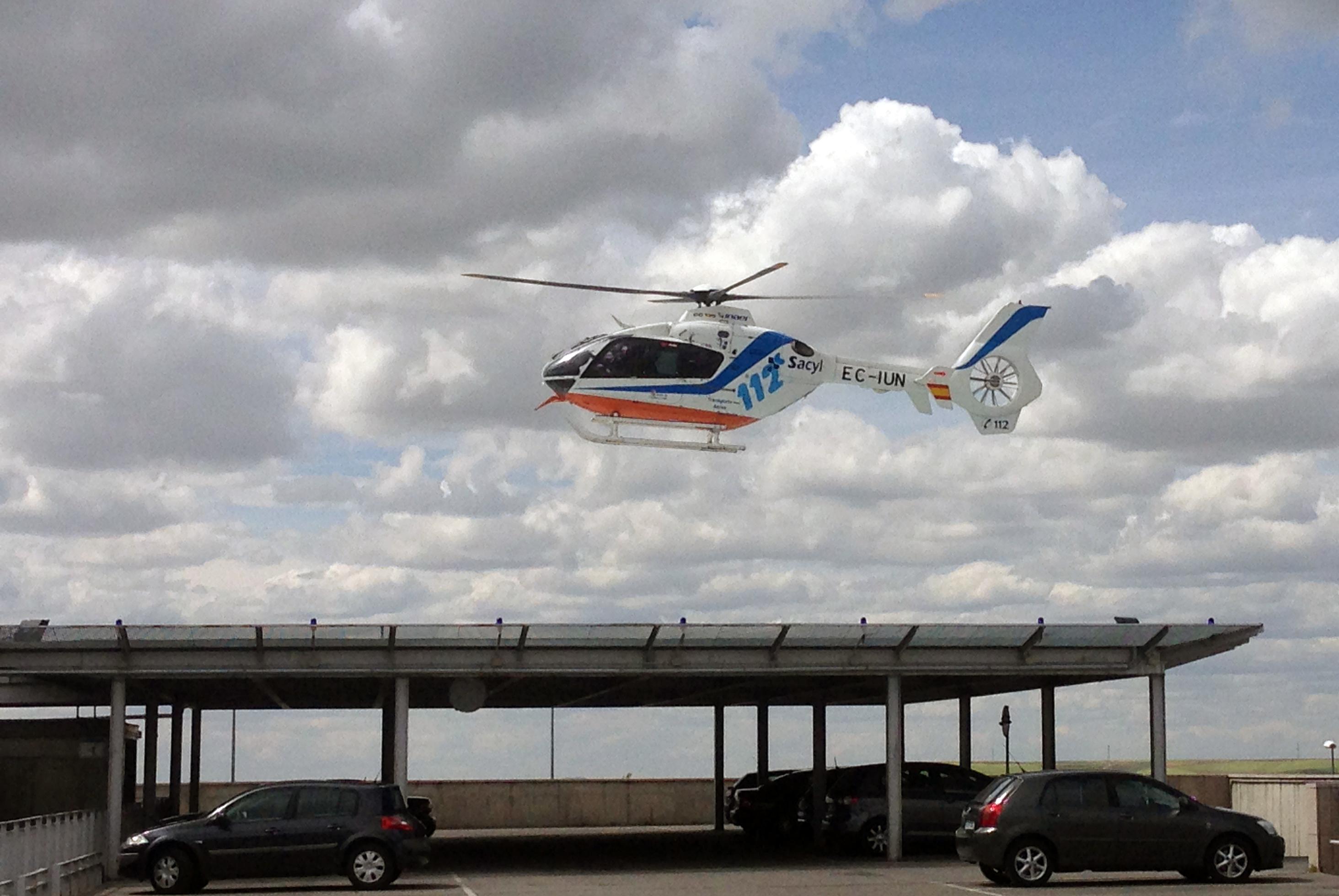 helicoptero 112 castilla y leon