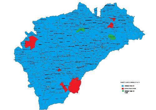 Pueblos De Segovia Mapa.Radio Segovia Los Segovianos Apuestan Por El Pp En La