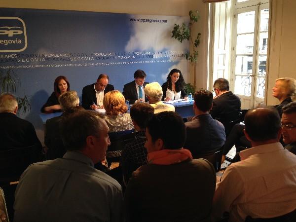 Comité Ejecutivo del PP Segovia.