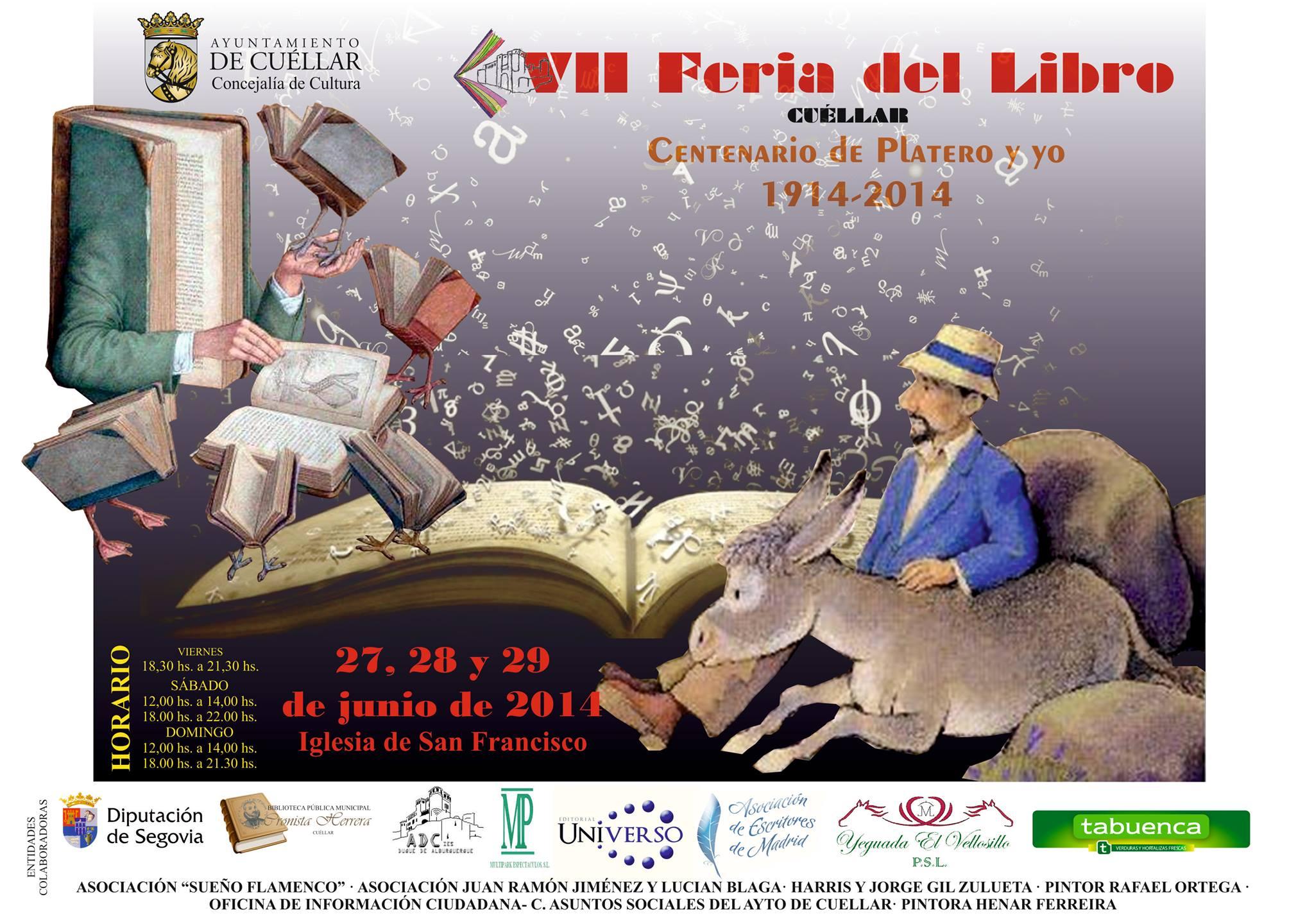 Los aniversarios literarios protagonizarán la VII Feria del Libro de Cuéllar