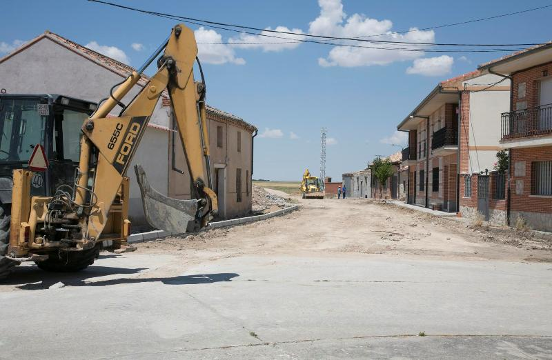 Marazuela terminará la urbanización de una de sus calles con la ayuda provincial