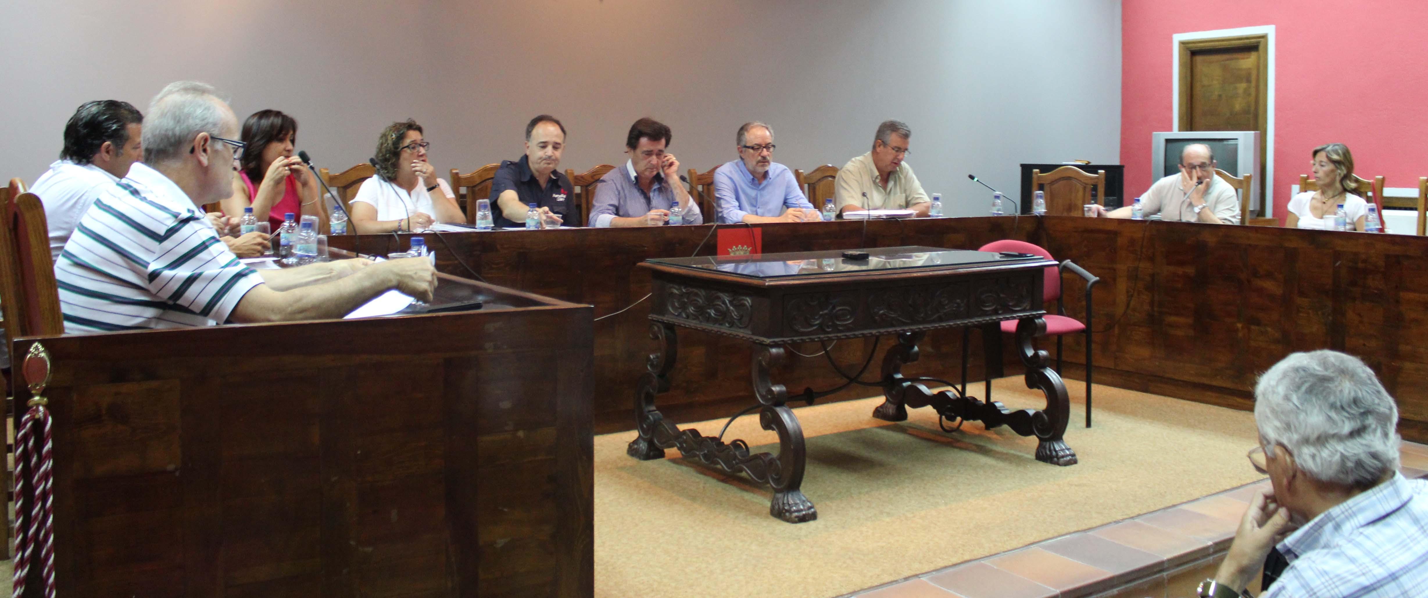 Pleno Ayuntamiento de Cuéllar. /J.M.