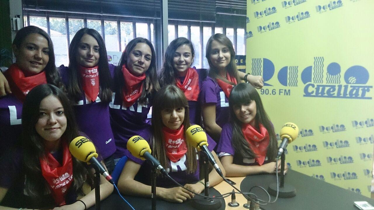 140828 Peña ganadora concurso cuñas radio cuellar 2
