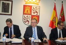 El procurador Juan José Sanz Vitorio participa en la Comisión Territorial de Coordinación