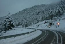 Activada la alerta por nevadas en la provincia de Segovia