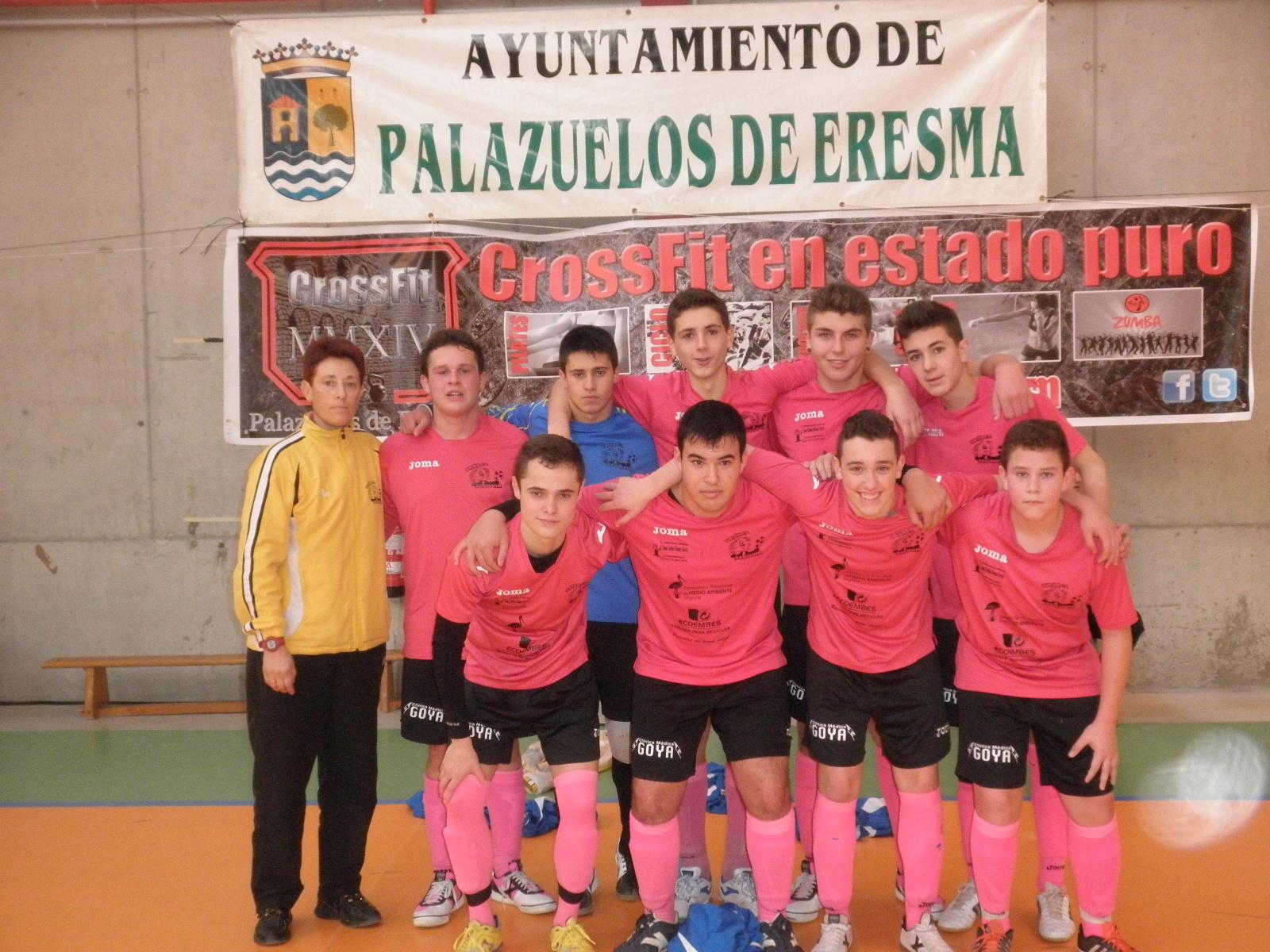 Unión Fútbol Sala y CD Monteresma se adjudican el torneo de Palazuelos