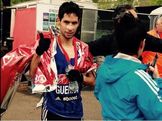 Javier Guerra, primer español en la Media Maratón de Madrid