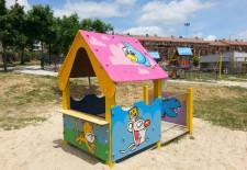 San Cristóbal cambia la imagen de sus parques infantiles