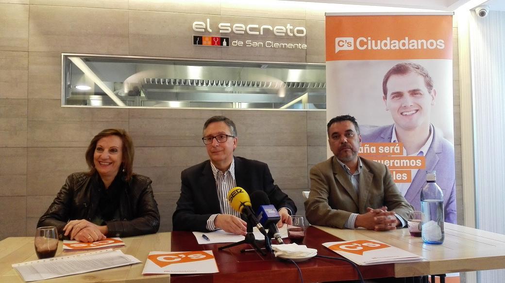 Ciudadanos Segovia se ve en el Ayuntamiento como oposición