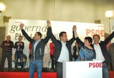 El PSOE pide el voto de los segovianos y realza la labor de Clara Luquero
