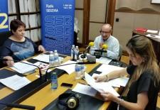 Clara Luquero y Raquel Fernández defienden sus propuestas electorales en Radio Segovia
