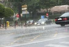 La tormenta dejó 16,4 litros y 238 rayos en Segovia