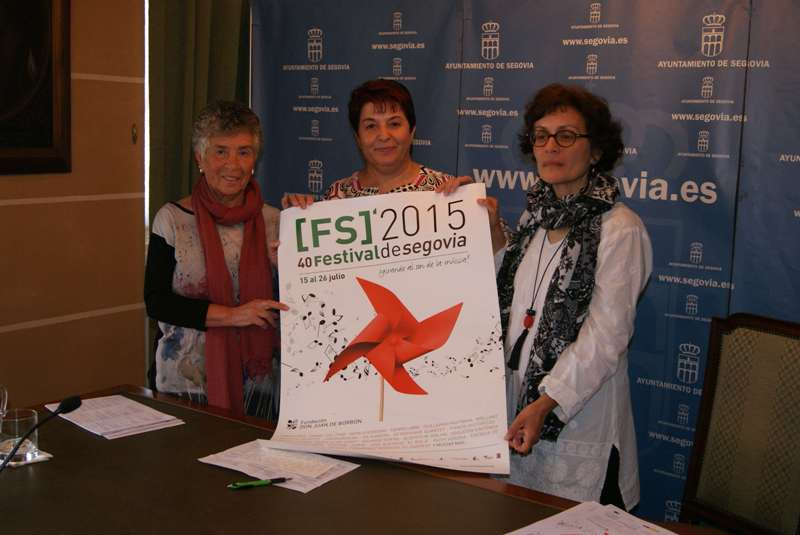 Danza, arquitectura y fotografía se dan cita en la exposición que anuncia la llegada del Festival de Segovia