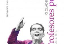 El Giner de los Ríos presenta su XI Cuaderno de profesores poetas