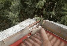 Un rayo causa daños en el Colegio de San Gil de Cuéllar