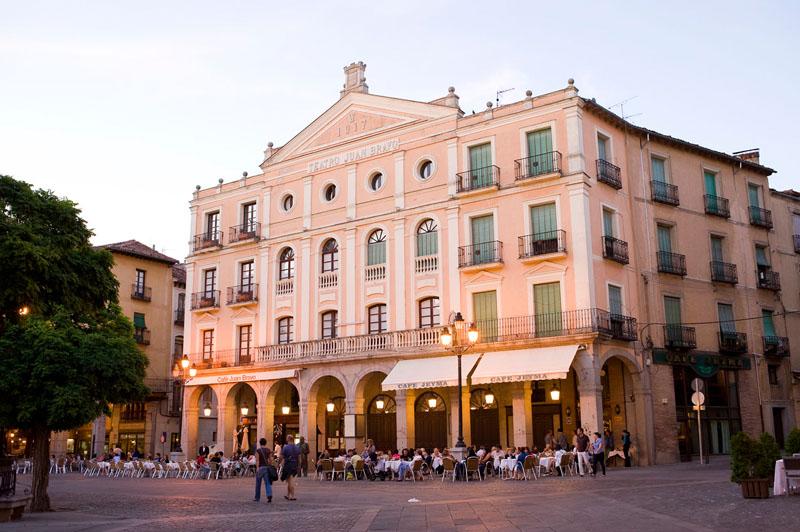 UPYD pedirá a la Diputación la cesión del Teatro Juan Bravo al Ayuntamiento de Segovia
