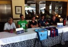 Santi Sedano deja la Sego para dirigir al Palencia, el club presenta a Javi Marcos y Domingo y Quique confirma su continuidad