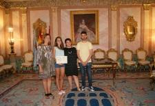 Sara Rodríguez Tardón recibe el premio extraordinario de bachillerato