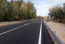 Finalizan las obras de la carretera de Hontanares y se abre al tráfico en el plazo previsto